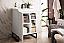 "James Martin Alicante 24"" Single Vanity Cabinet, Glossy White"