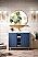 "James Martin Alicante 39.5"" Single Vanity Cabinet, Azure Blue"