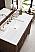 "James Martin Athens Collection 48"" Single Vanity Cabinet, Mid Century Acacia"