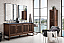 """James Martin Athens Collection 72"""" Double Vanity Cabinet, Mid Century Acacia"""