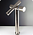 Fresca FFT1092BN Brushed Nickel Trebia Single Handle Faucet