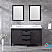 """60"""" Brown Vanity Cabinet Only with Countertop and Mirror Options"""