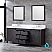 """80"""" Brown Vanity Cabinet Only with Countertop and Mirror Options"""