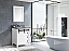 """30"""" White Vanity Cabinet Only with Mirror and Top Options"""