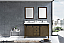 """60"""" Rustic Brown Vanity Cabinet Only with Top and Mirror Options"""