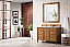 """James Martin Brittany Collection 48"""" Saddle Brown Single Vanity"""