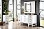 "James Martin Addison Collection 60"" Single Vanity Cabinet, Glossy White Finish"
