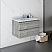 "30"" Wall Hung Modern Bathroom Cabinet w/ Top & Sink in Ash"