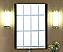 """Xylem Europa 24"""" Dark Walnut Modern Bathroom Mirror"""
