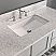 """48"""" Gray Solid Wood and Basin Sink Vanity with Countertop Options"""