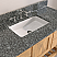 """48"""" Natural Wood Solid Wood and Basin Sink Vanity with Countertop Options"""