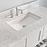 """48"""" White Solid Wood and Basin Sink Vanity with Countertop Options"""