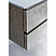 "48"" Wall Hung Double Sink Modern Bathroom Cabinet w/ Top & Sinks in Ash"