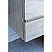 """60"""" Wall Hung Double Sink Modern Bathroom Cabinet w/ Top & Sinks in Rustic White Finish"""