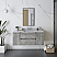"48"" Wall Hung Modern Bathroom Cabinet w/ Top & Sink in Ash"
