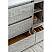 "48"" Floor Standing Modern Bathroom Cabinet w/ Top & Sink in Ash"