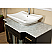 Bellaterra Home 604023B Single Sink Bathroom Sink