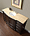 "Silkroad 60"" Floating Single Sink Bathroom Vanity"