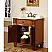 Silkroad Wood 33 inch Single Sink