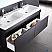 Fresca Largo Black Bathroom Vanity