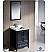 "Fresca Oxford 24"" Traditional Bathroom Vanity Espresso Finish"