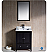 "Fresca Oxford 24"" Traditional Bathroom Vanity"