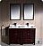 "Fresca Oxford 48"" Double Sink Bathroom Vanity"