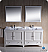"Fresca Oxford 72"" Double Sink Bathroom Vanity White Finish"