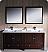 "Fresca Oxford 72"" Double Sink Bathroom Vanity"