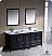 "Oxford 72"" Double Sink Bathroom Vanity Espresso Finish"