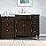 "Silkroad 58"" Bathroom Vanity Espresso Finish"