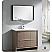 """Fresca Allier 40"""" Modern Bathroom Vanity Grey Oak Finish"""