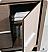"Fresca Allier 40"" Bathroom Vanity Grey Oak Finish"