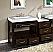 """Silkroad 56"""" Moduler Bathroom Vanity"""