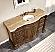 SilkRoad Charleston 60 inch Bathroom Vanity