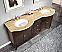 Silkroad 72 inch Traditional Bathroom Vanity