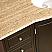 Silkroad 55 inch Single Vanity Travertine Top
