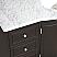 Silkroad 55 inch Bathroom Vanity Carrara White Marble Top
