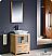 "Fresca Torino 24"" Light Oak Modern Bathroom Vanity"