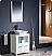 "Fresca Torino 24"" White Vessel Sink Modern Bathroom Vanity"