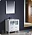"""Fresca Torino 30"""" Glossy White Modern Bathroom Vanity"""