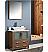 "Fresca Torino 30"" Walnut Brown Modern Bathroom Vanity Vessel Sink"