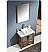 "Fresca Torino 30"" Walnut Brown Modern Bathroom Vanity"