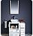 "Fresca Torino 36"" White Modern Bathroom Vanity Side Cabinet"