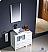 "Fresca Torino 36"" White Modern Bathroom Side Cabinet Vanity"