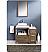 "Fresca Torino 36"" Walnut Modern Bath Vanity Side Cabinet"