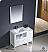 Fresca Torino 42 inch White Modern Bath Vanity