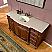 Silkroad Exclusive 60 inch Bathroom Single Sink Vanity