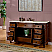 Silkroad Exclusive 60 inch Bathroom Vanity Chestnut Finish