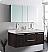 Fresca FVN8013GO Opulento 54 Inch Gray Oak Modern Double Bathroom Vanity